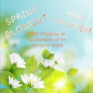 !Spring Blowout Sale!